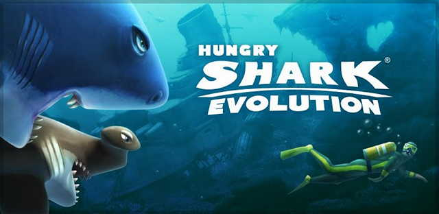 hungry shark evolution мод